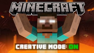 Video If Herobrine Had Creative Mode - Minecraft MP3, 3GP, MP4, WEBM, AVI, FLV Mei 2017