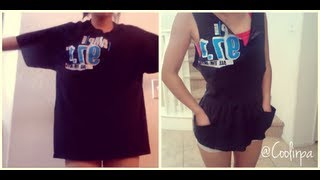Cute T-shirt Reconstruction Tutorial - YouTube