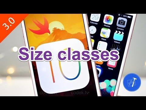 27- iOS    Size classes - التحكم في وراثة الحجم