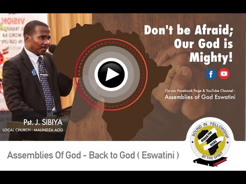 Don't be Afraid; Our God is Mighty! - Pst. J. Sibiya