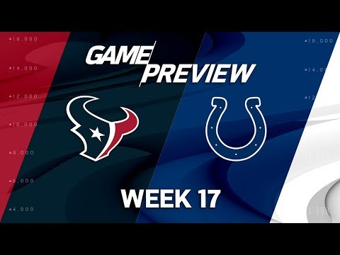 Video: Houston Texans vs. Indianapolis Colts | NFL Week 17 Game Preview | NFL