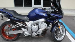6. SOLD! 2005 Yamaha FZ6 Review and Engine Start