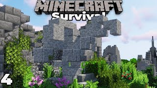 Building an Awesome Custom STATUE for our Castle : Minecraft 1.14 Survival Let's Play