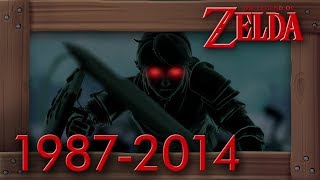 Evolution of Dark Link Battles in Zelda Games [1987–2017]. This video shows you all battles against Dark Link in Zelda history (not to be confused with Shadow Link). Timecodes are below in the description.►Twitter: https://twitter.com/beardbaer►Timecodes:00:01 - The Adventure of Link  198700:49 - Ocarina of Time  199801:40 - Oracle of Ages  200102:05 - A Link to the Past & Four Swords  200204:57 - Spirit Tracks  200906:18 - Hyrule Warriors  2014