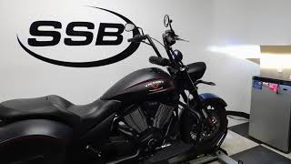 5. 2013 Victory Hardball– used motorcycles  for sale– Eden Prairie, MN