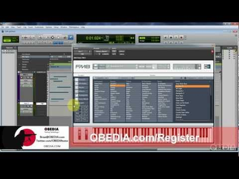 PRO TOOLS: Working with virtual instruments