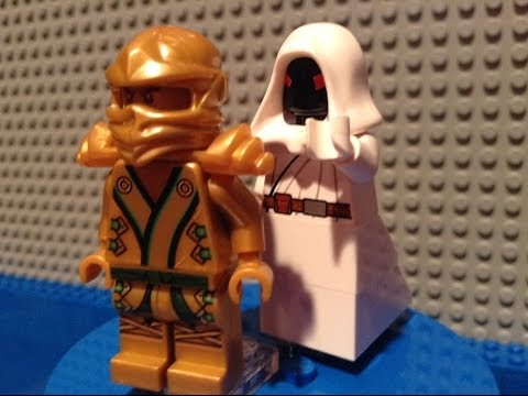 lego ninjago rebooted 2014 custom white pythor minifigure