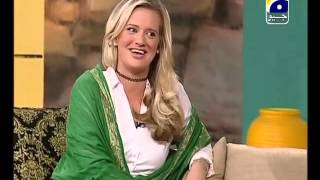 Shaniera Akram 4 lines in Urdu- very fuuny