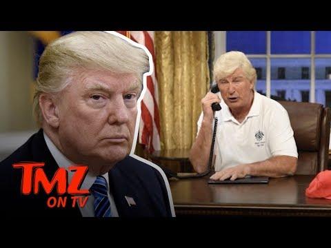 "Trump Tweets at ""Alex"" Baldwin! | TMZ TV"