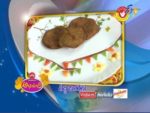 Abhiruchi--Sajja-Boorelu--సజ్జ-బూరెలు