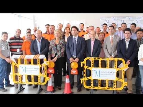 Entrega de material de Protección Civil a 16 municipios de Málaga