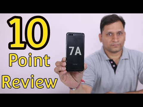 Honor 7A Review | Performance & Camera Review | 10 Point Review
