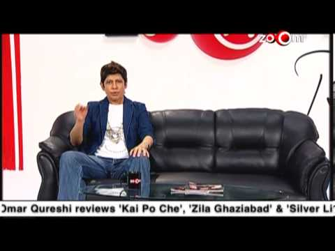 The zoOm Review Show – Kai Po Che, Zila Ghaziabad & Silver Linings Playbook online movie review