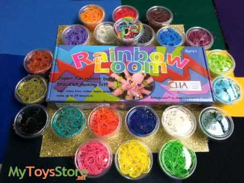 Rainbow Loom Rubber Bands – All 21 Colors