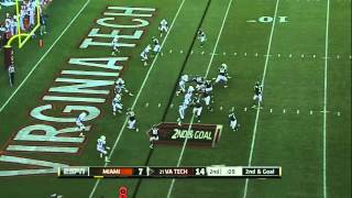 Logan Thomas vs Miami (2011)