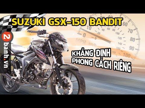 Suzuki GSX150 Bandit - Đánh giá cận cảnh thực tế ở Việt Nam - Thời lượng: 13 phút.