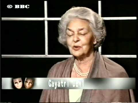 Gayatri Devi on Face to Face with Karan Thapar (Jaipur)