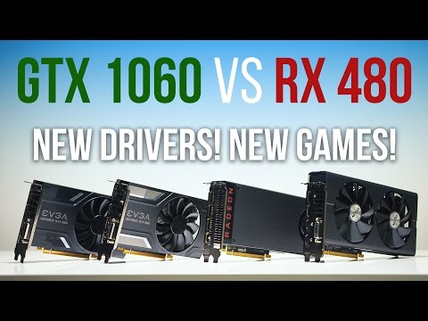 GTX 1060 Vs RX 480 | Who Wins NOW?