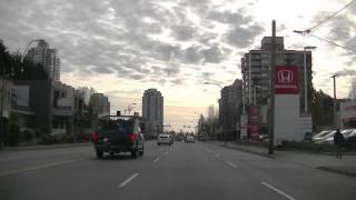 Burnaby (BC) Canada  city photo : BURNABY British Columbia Canada - Driving in BC - Sightseeing Drive - Morning 2016