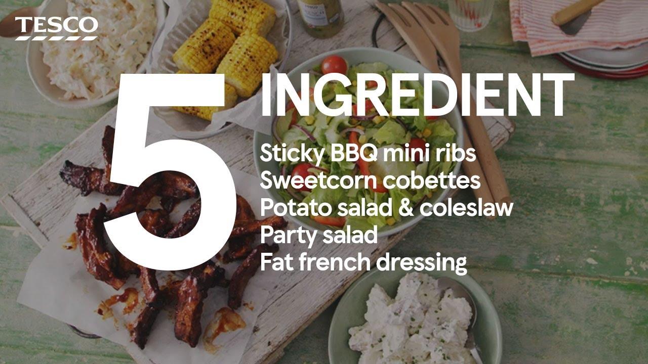 5-ingredient – BBQ sharing platter