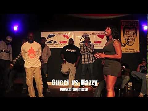 PIT FIGHTS BATTLE LEAGUE : Cause Of Death: Gucci vs Hazzy