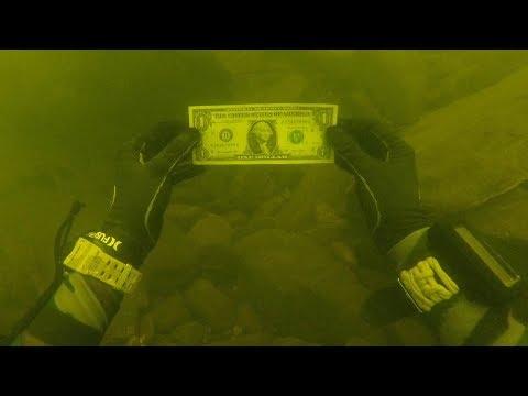 I Found Money While Cleaning a Trash Pile Underwater in River! (Scuba Diving)_Búvárkodás. Heti legjobbak
