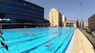 Swimming Timelapse