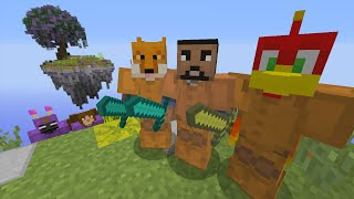 ▶▶ Subscribe - http://bit.ly/10361uv Today i will be playing a Team 3v3 SkyWars with friends. Orange team vs Purple, Who will win :) I hope you enjoy! Thanks...