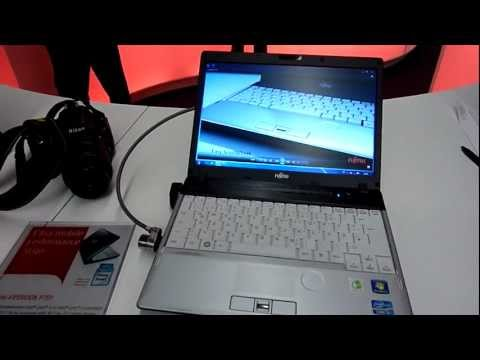 Fujitsu Lifebook P701 im Hands On