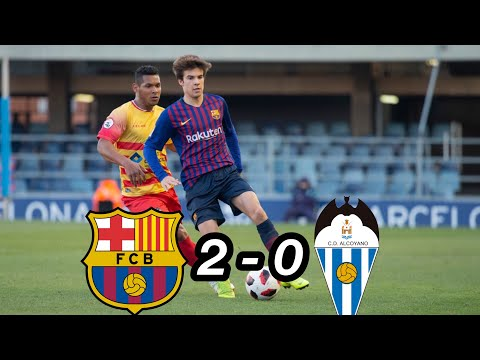 Barcelona B Vs Alcoyano 2-0 | Full Goals & Highlights