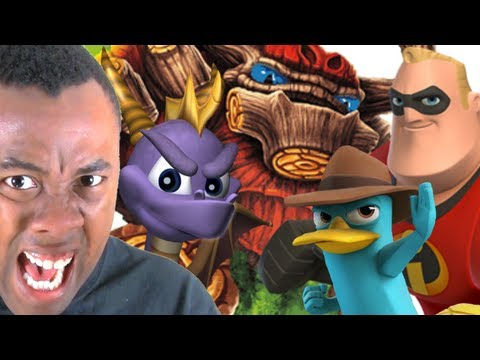 SKYLANDERS vs. DISNEY INFINITY : Black Nerd Rants