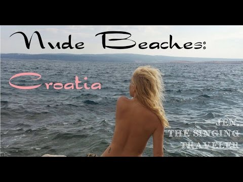 Croatia: Nude Beaches (видео)