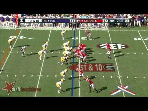 David Andrews vs LSU 2013 video.