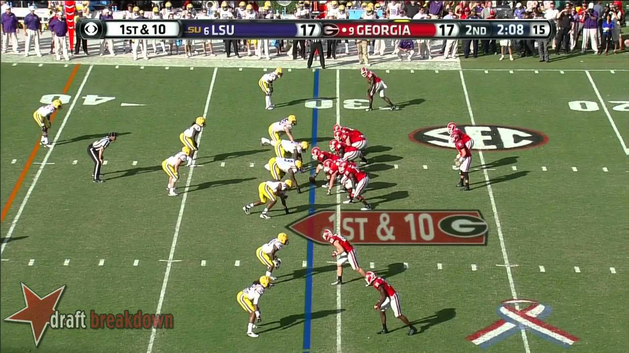 Chris Burnette vs LSU (2013)