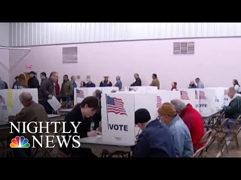 Voter Turnout Surges In U.S. Midterm Elections | NBC Nightly News