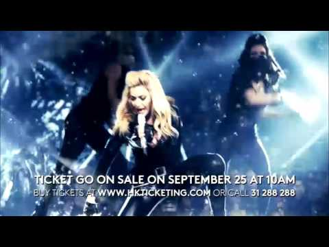 Madonna Rebel Heart Tour Hong Kong