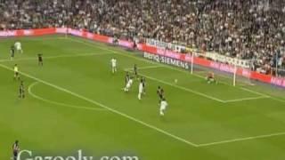 Aus der Vogelperspektive: Van Nistelrooys Volleytor gegen Valencia