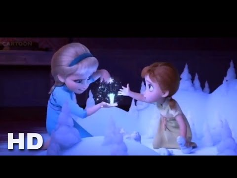 FROZEN 2 Young Elsa and Anna plays Enchanted Forest HD 720p
