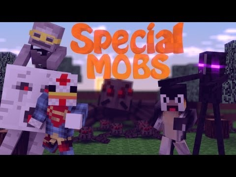 More Mobs Mod: Minecraft Special Mobs Mod Showcase - 100+ Mob Variations!