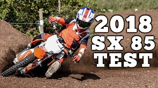 7. Young Guns Test 2018 KTM 85 SX
