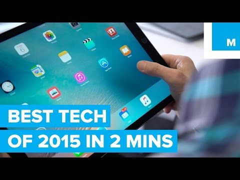 THE BEST TECH OF 2015 IN 2 MINUTES @mashable