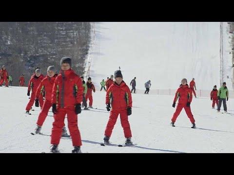 Skifahren in Nordkorea: Dem »Obersten Führer« sei dank