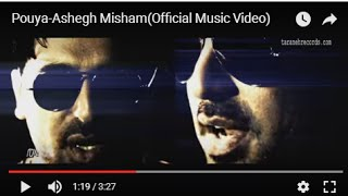 Daram Ashegh Misham Music Video Pouya