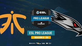 Fnatic vs AGO - ESL Pro League S8 EU - bo1 - de_train [ceh9]