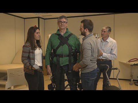 Rehahilfe: Hilfe nach Bedarf mit dem Exoskelett