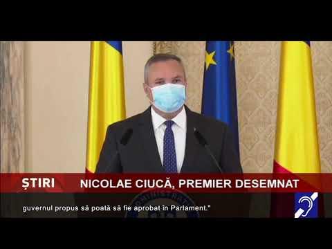 Nicolae Ciucă, desemnat premier