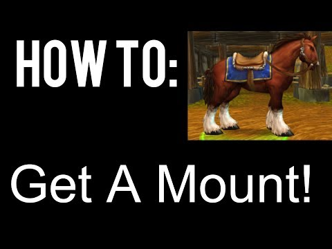 How To Get A Mount In World Of Warcraft (Storm-wind) (видео)