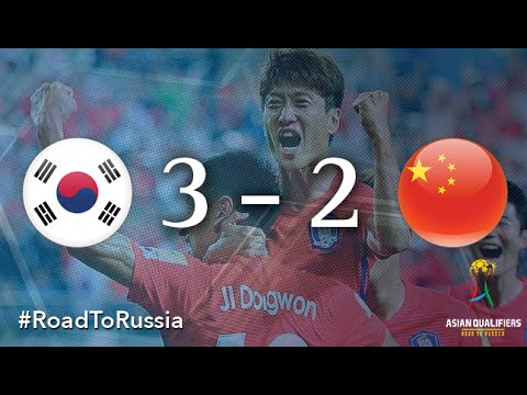 Korea Republic vs China PR (Asian Qualifiers – Road to Russia)
