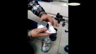 Как склеить трубы и фитинги из поливинилхлорида(ПВХ)?
