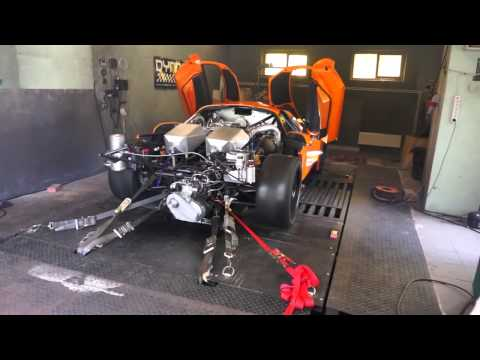 dyno - Testing a hand-built, high-performance American supercar.